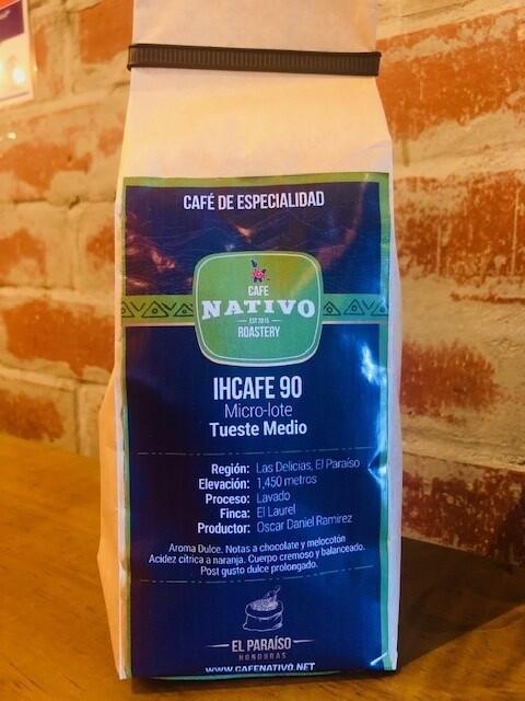Microlote Ihcafe 90 Productor Oscar Daniel Ramirez  (340 gms)