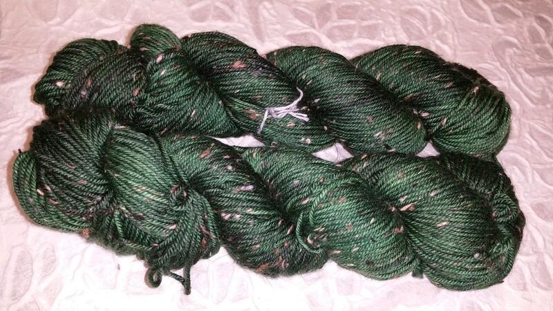 Tweed Sockenwolle und mehr Donegal, 6fach