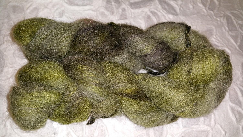 Whisper, die Alternative zu Mohair, Alpaka mit gebürsteter Seide