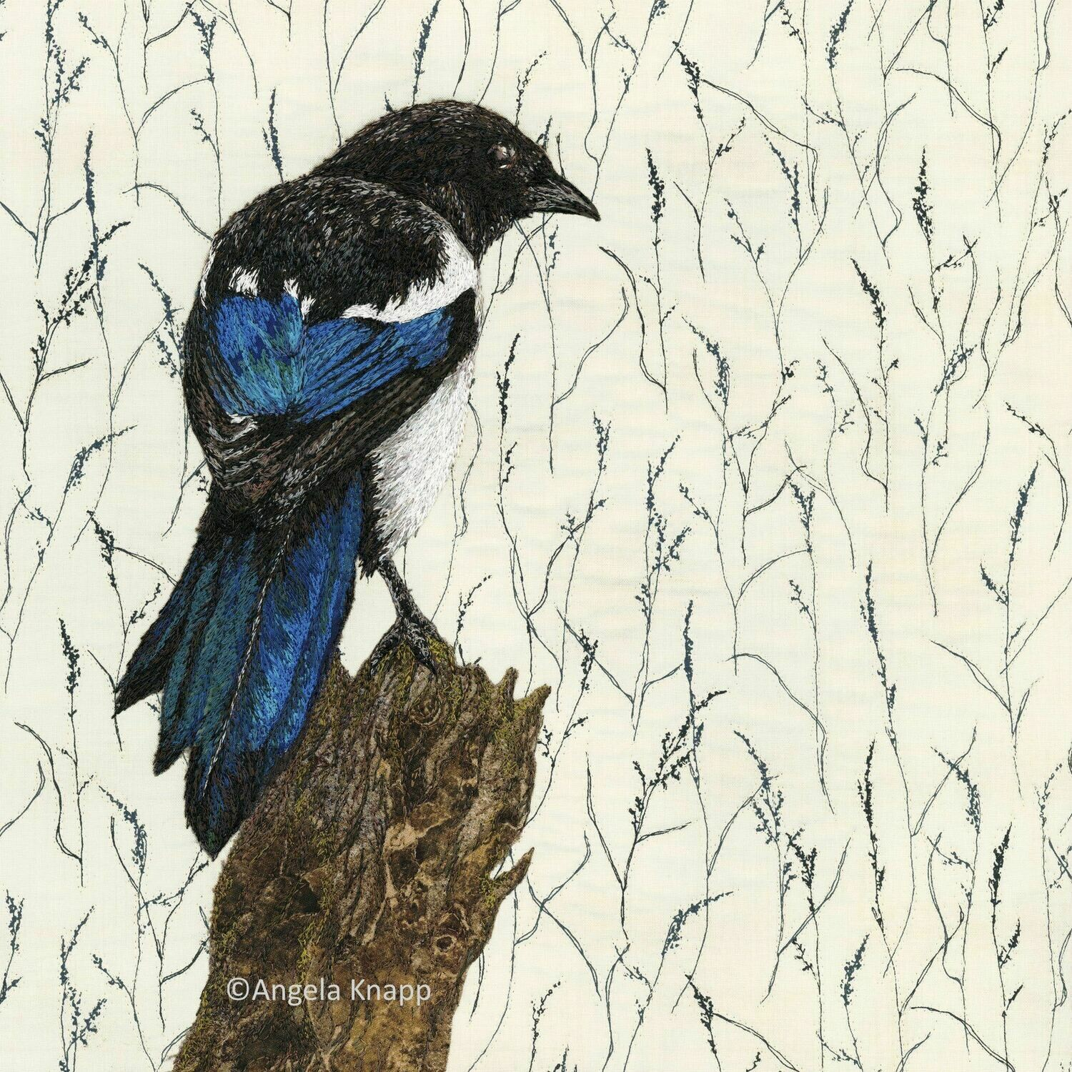 'One for Sorrow' - Limited Edition Giclee Print