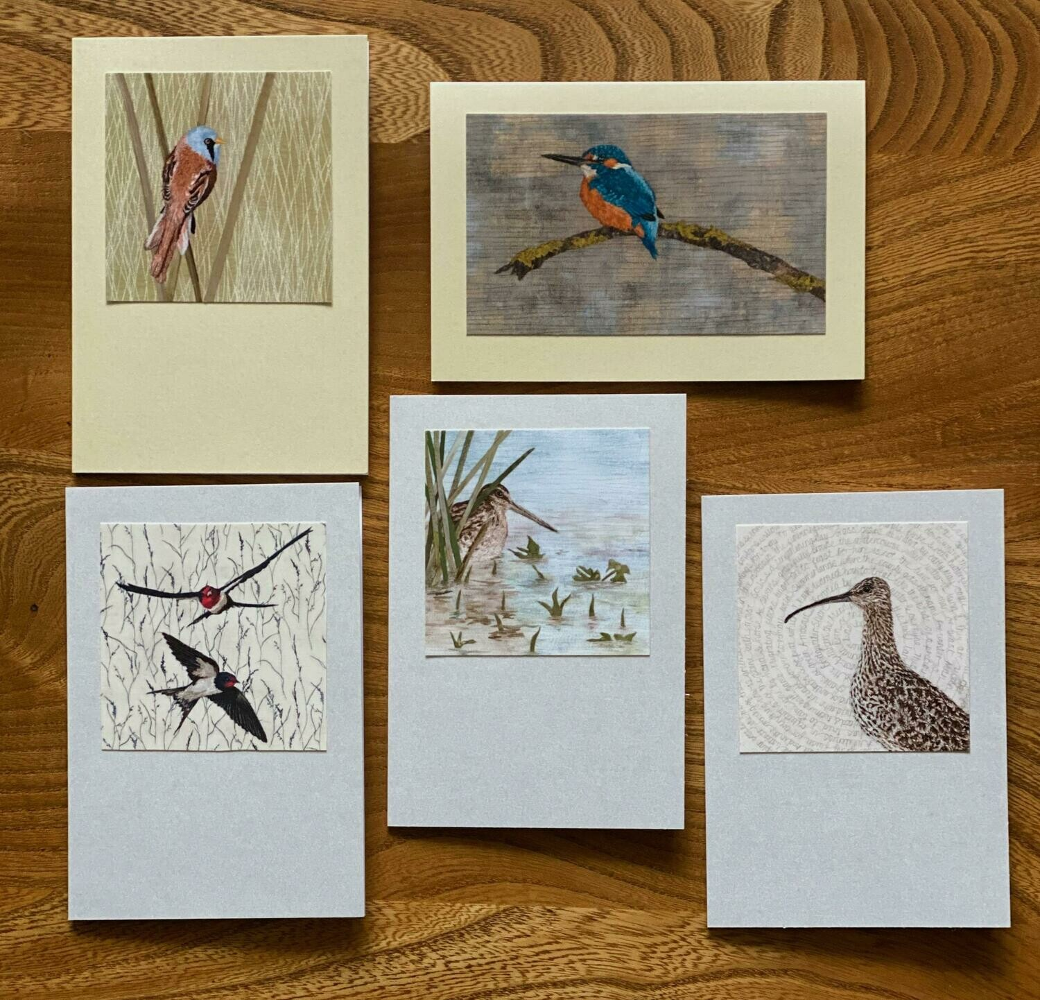 Card Set 1 - 'On the Levels' (Pack of 5)