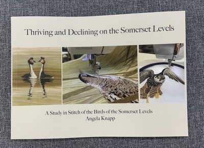 'Thriving and Declining on the Somerset Levels'- A story in Stitch Booklet