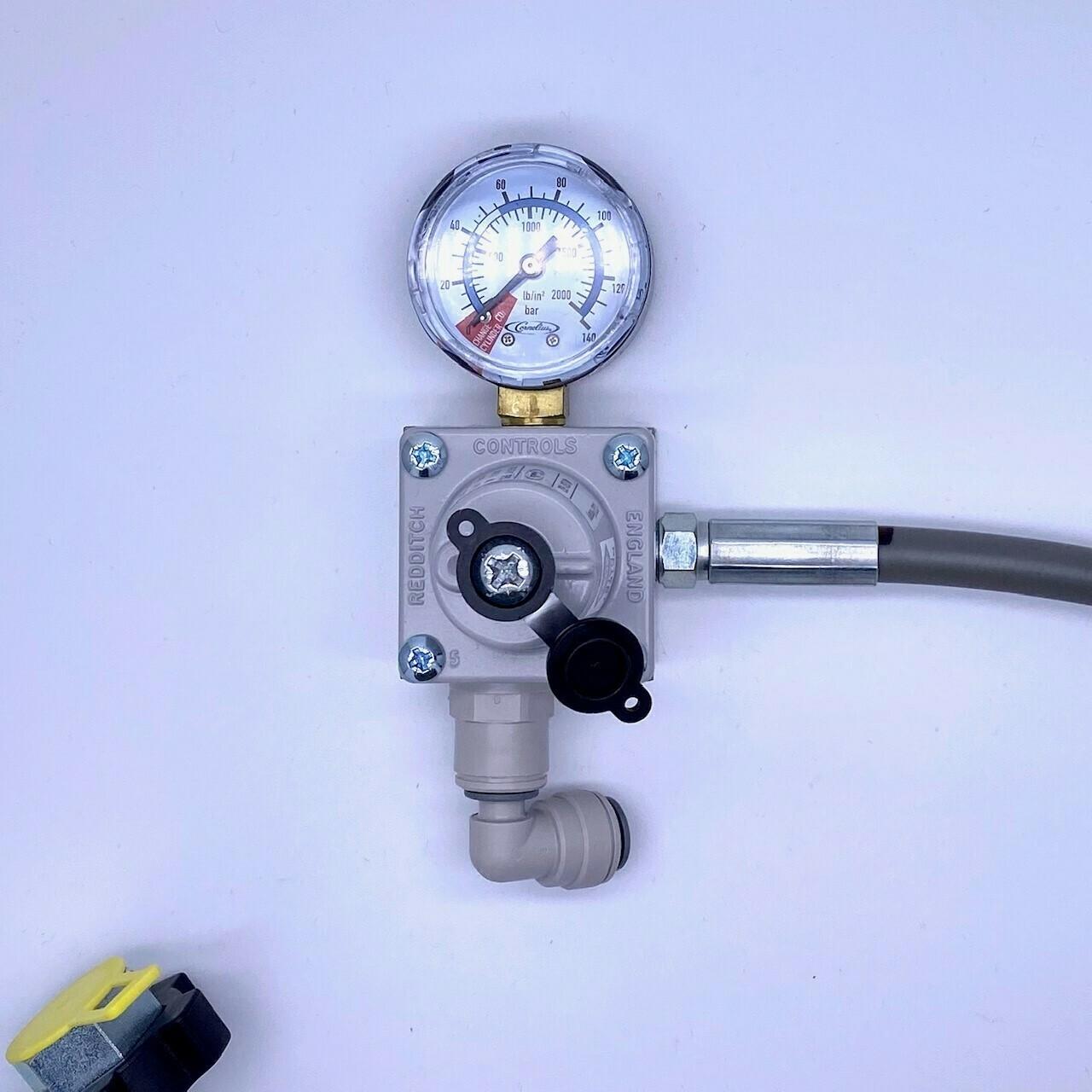 CO2 gas regulator