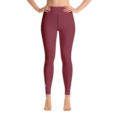 Yoga Leggings red - we are growing
