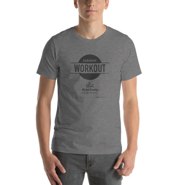 supreme workout tshirt MEN