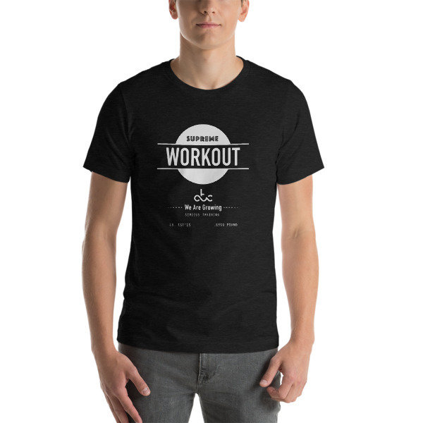 Supreme Workout tshirt dark MEN