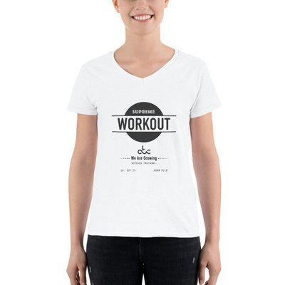 Supreme Workout tshirt white WOMAN