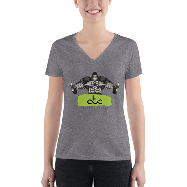 ATC GORILLA t-shirt WOMAN V-Neck