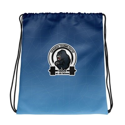 Drawstring bag gorilla