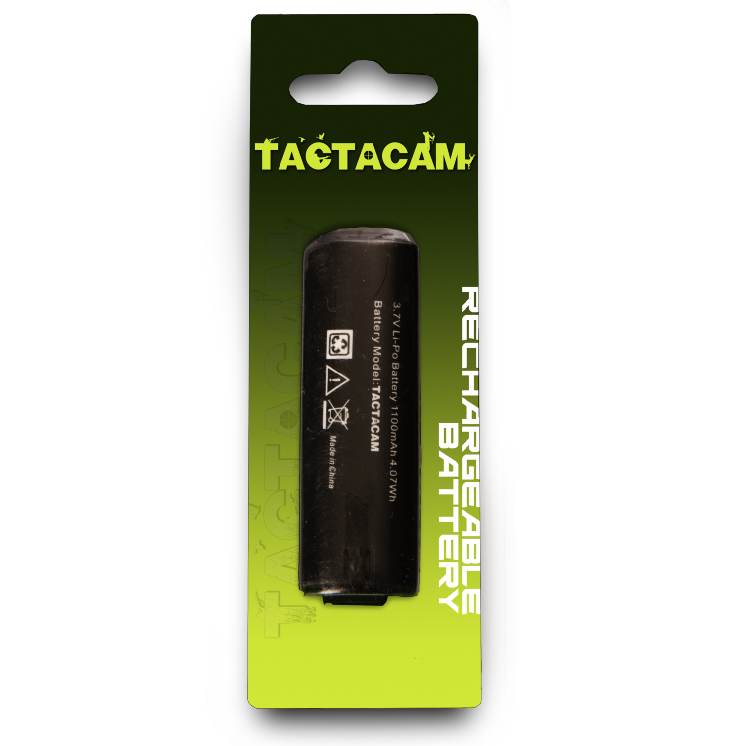 Tactacam Rechargeable Battery For 3.0, 4.0 and 5.0 Cams Only