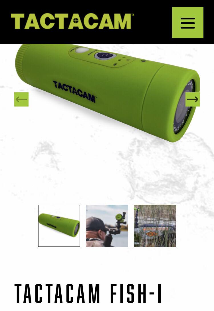 Tactacam Fish-I  Micro SD card included