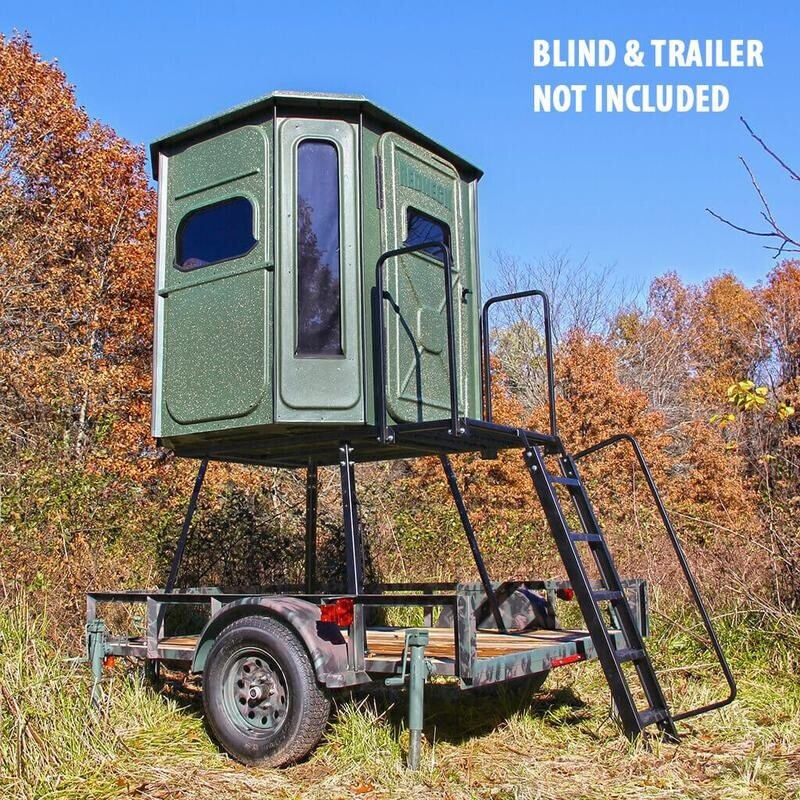Redneck Blinds Trailer Stand