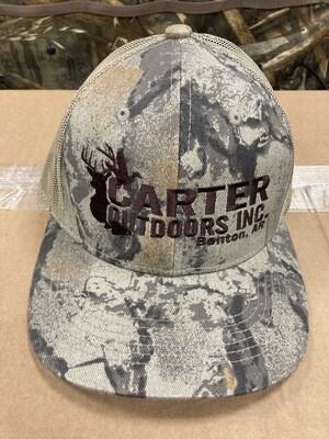 Natgear Trucker Hat Brown Logo