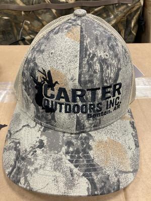 Natgear Trucker Hat Black Logo