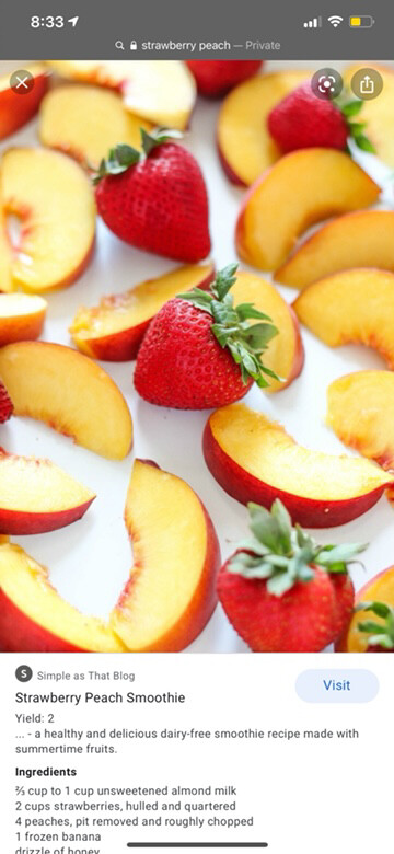 Strawberry Peach 10 Packets