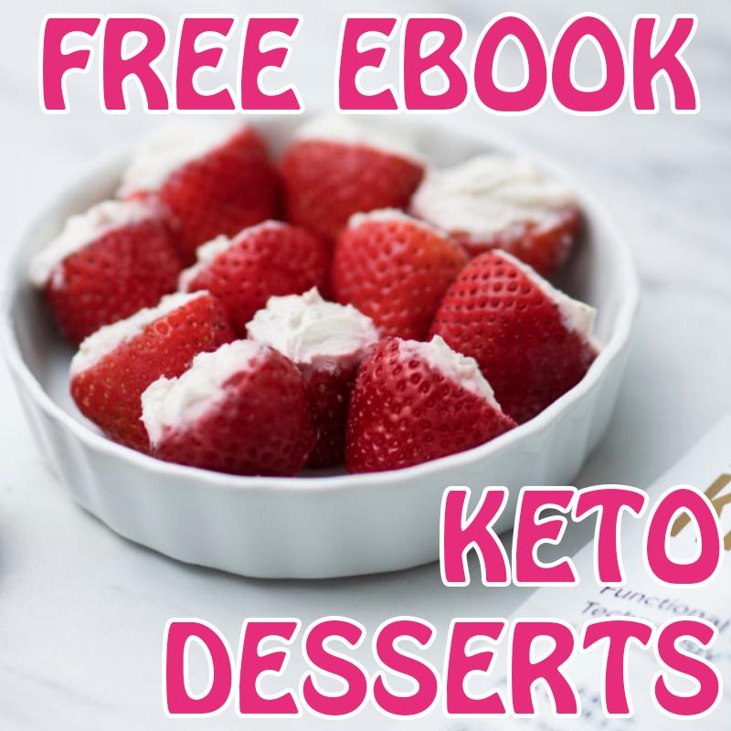 FREE KETO DESSERT E BOOK