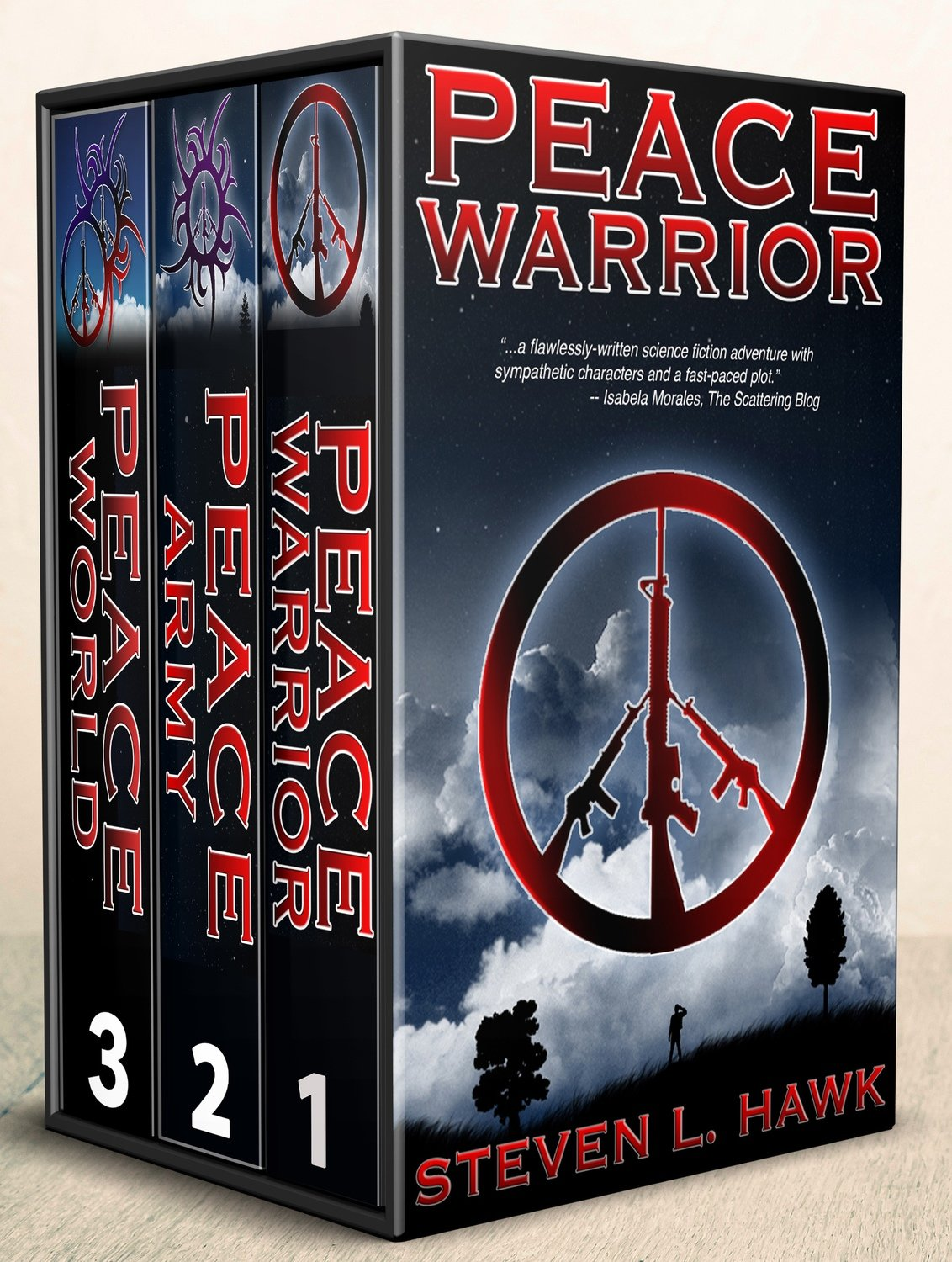 Peace Warrior Trilogy - Signed Paperback