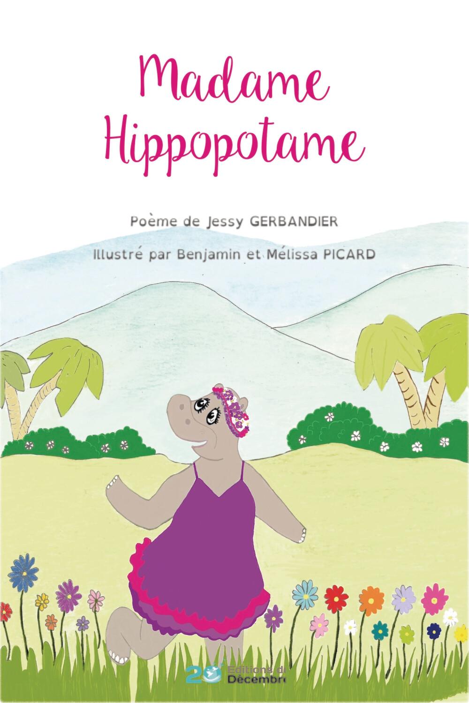 Madame Hippopotame - papier
