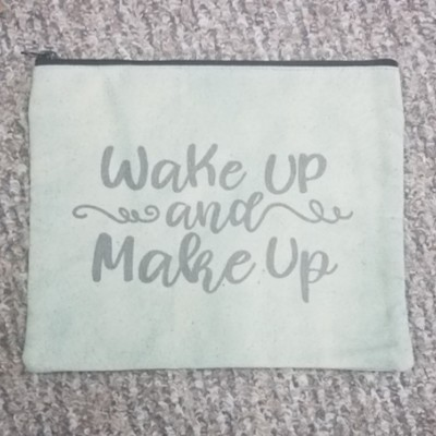Wake Up and Make Up Travel Makeup Bag
