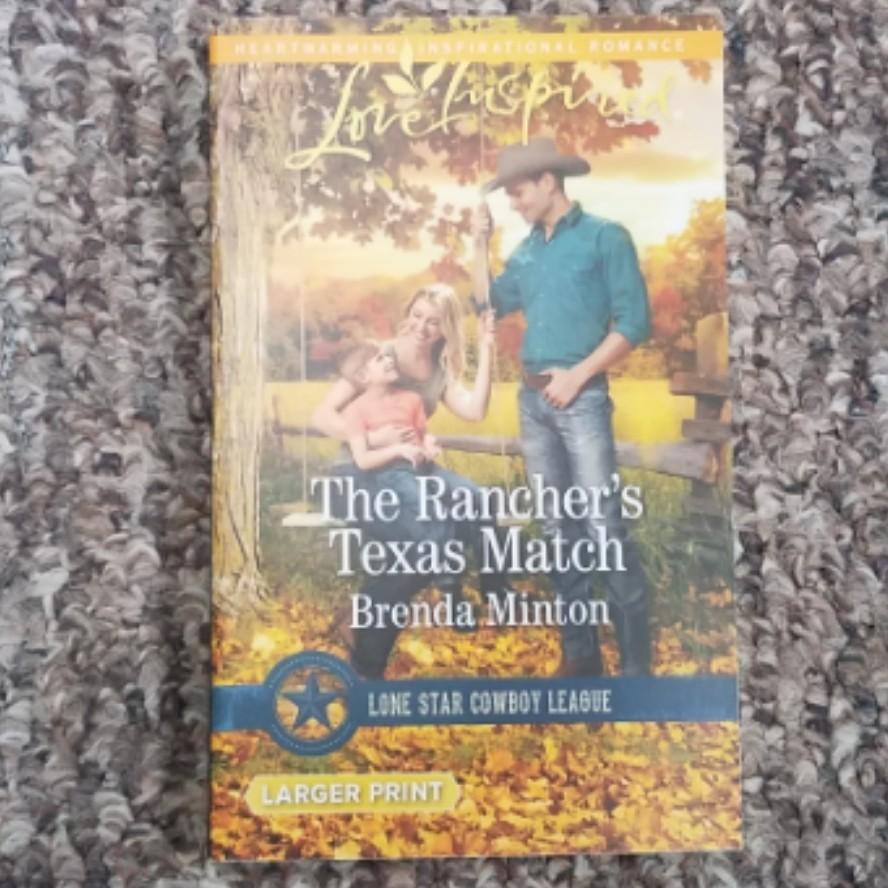 The Rancher's Texas Match by Brenda Minton