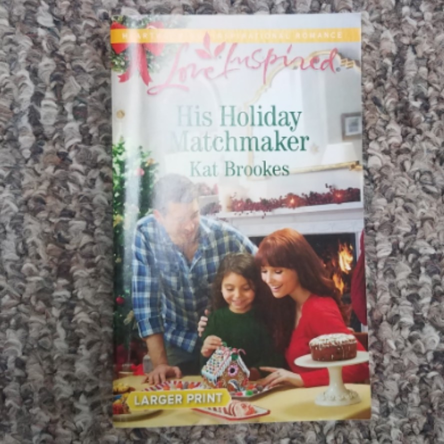 His Holiday Matchmaker by Kat Brookes