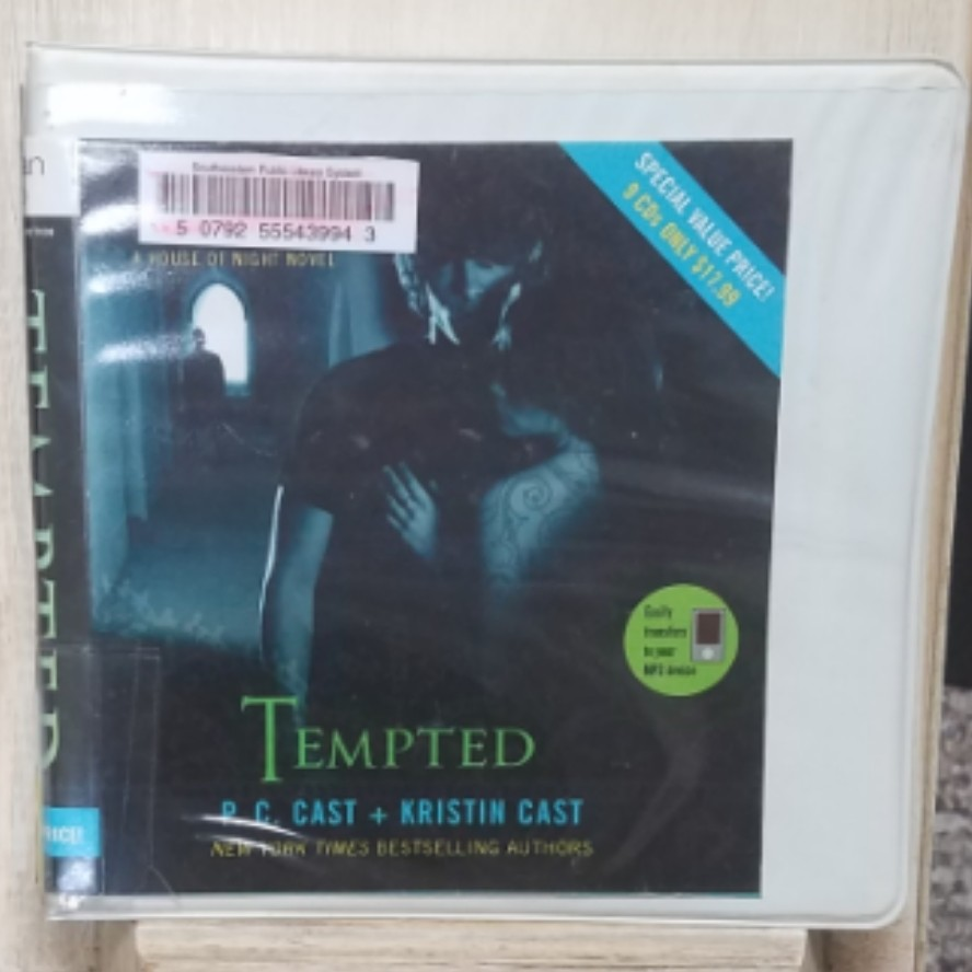 Tempted by P.C. Case and Kristin Cast AudioBook