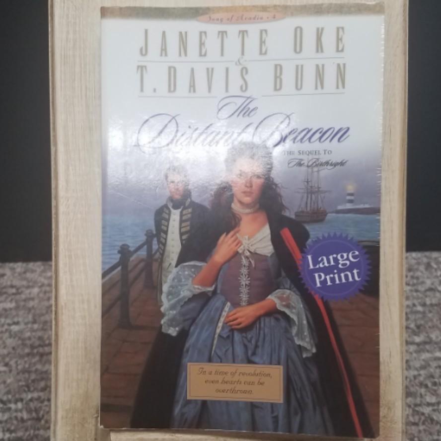 The Distant Beacon by Janette Oke & T. Davis Bunn