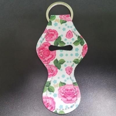 Pink Rose Chapstick Holder