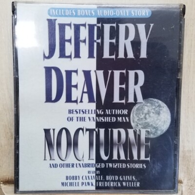 Nocturne and Other Unabridged Twisted Stories by Jeffery Deaver Audiobook