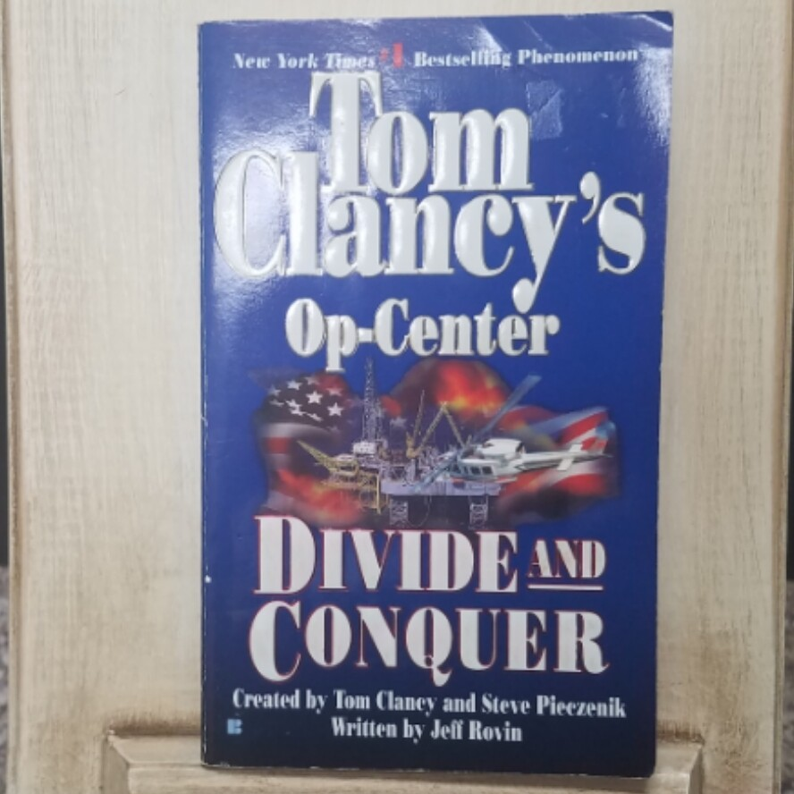 Op-Center: Divide and Conquer by Tom Clancy and Steve Pieczenik
