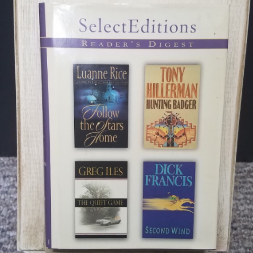 Follow the Stars Home, Hunting Badger, The Quiet Game, and Second Wind by Reader Digest