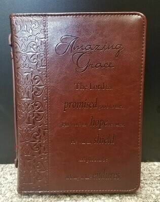 Amazing Grace Bible Cover - Large