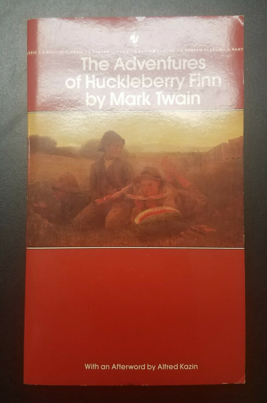 The Aventures of Huckleberry Finn by Mark Twain