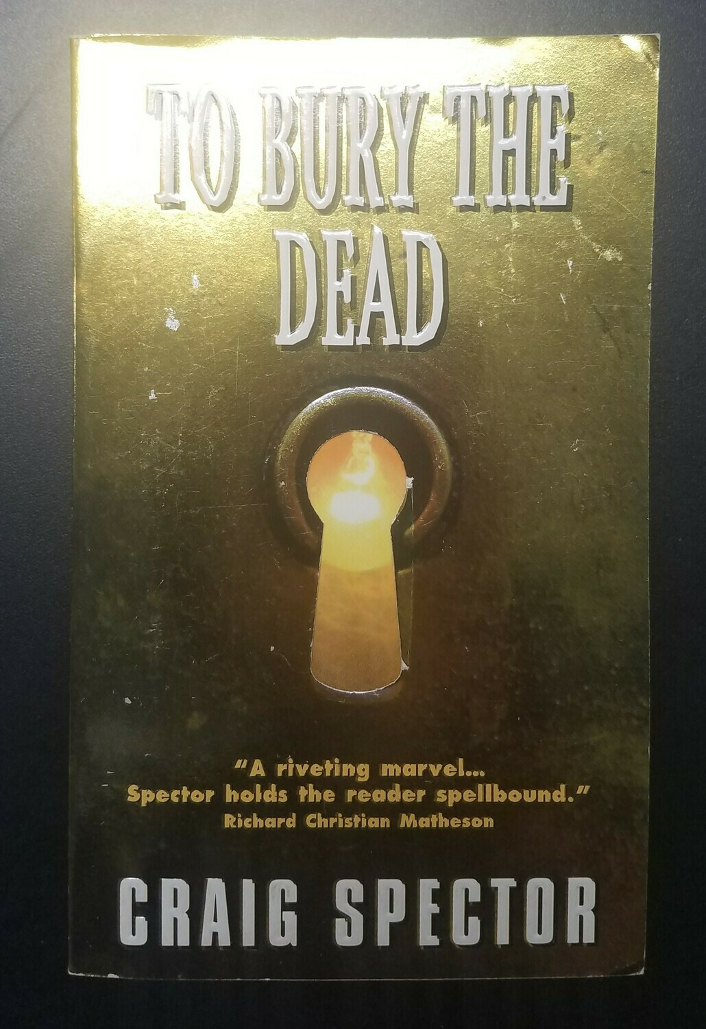 To Bury the Dead by Craig Spector
