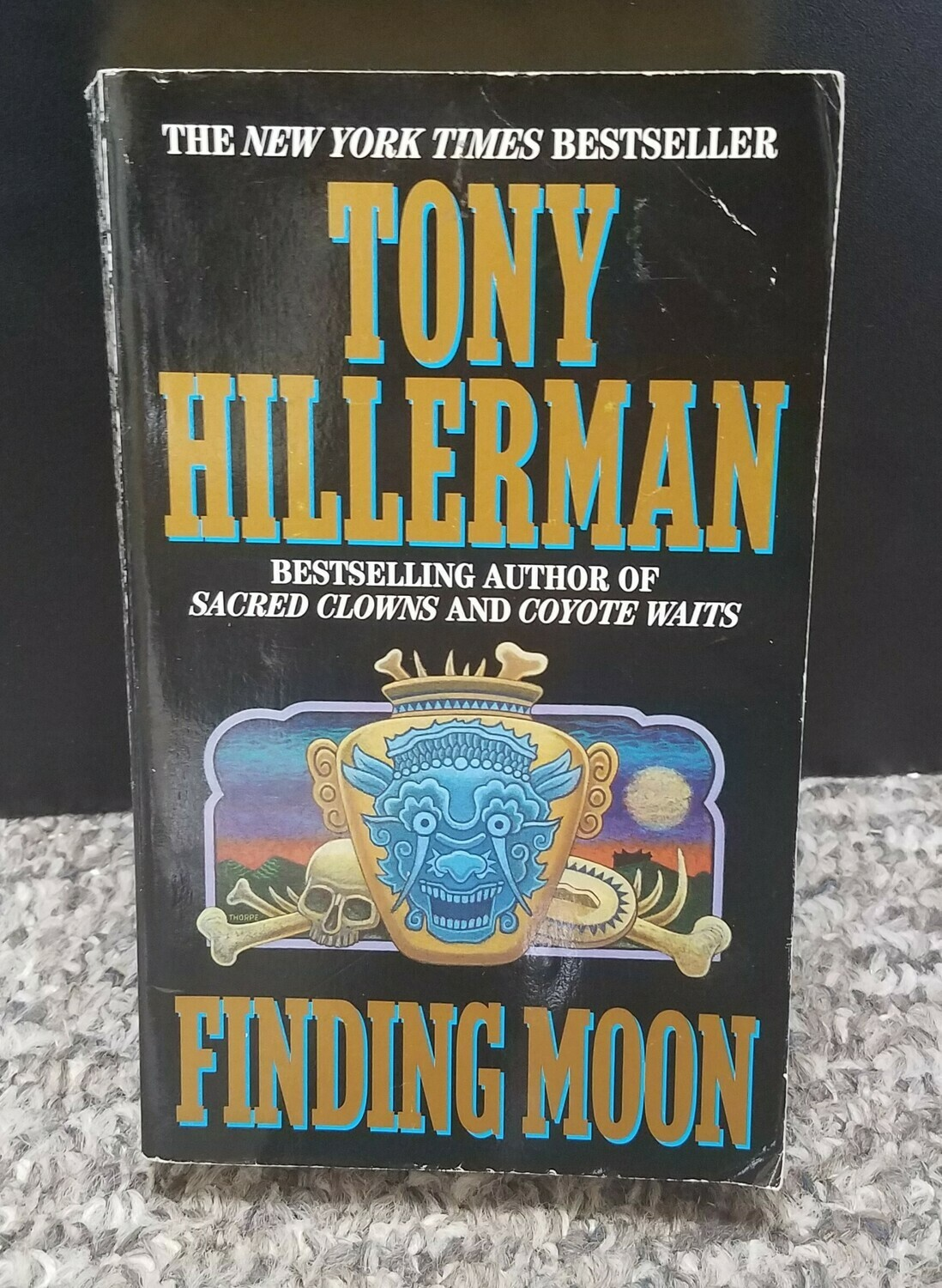 Finding Moon by Tony Hillerman