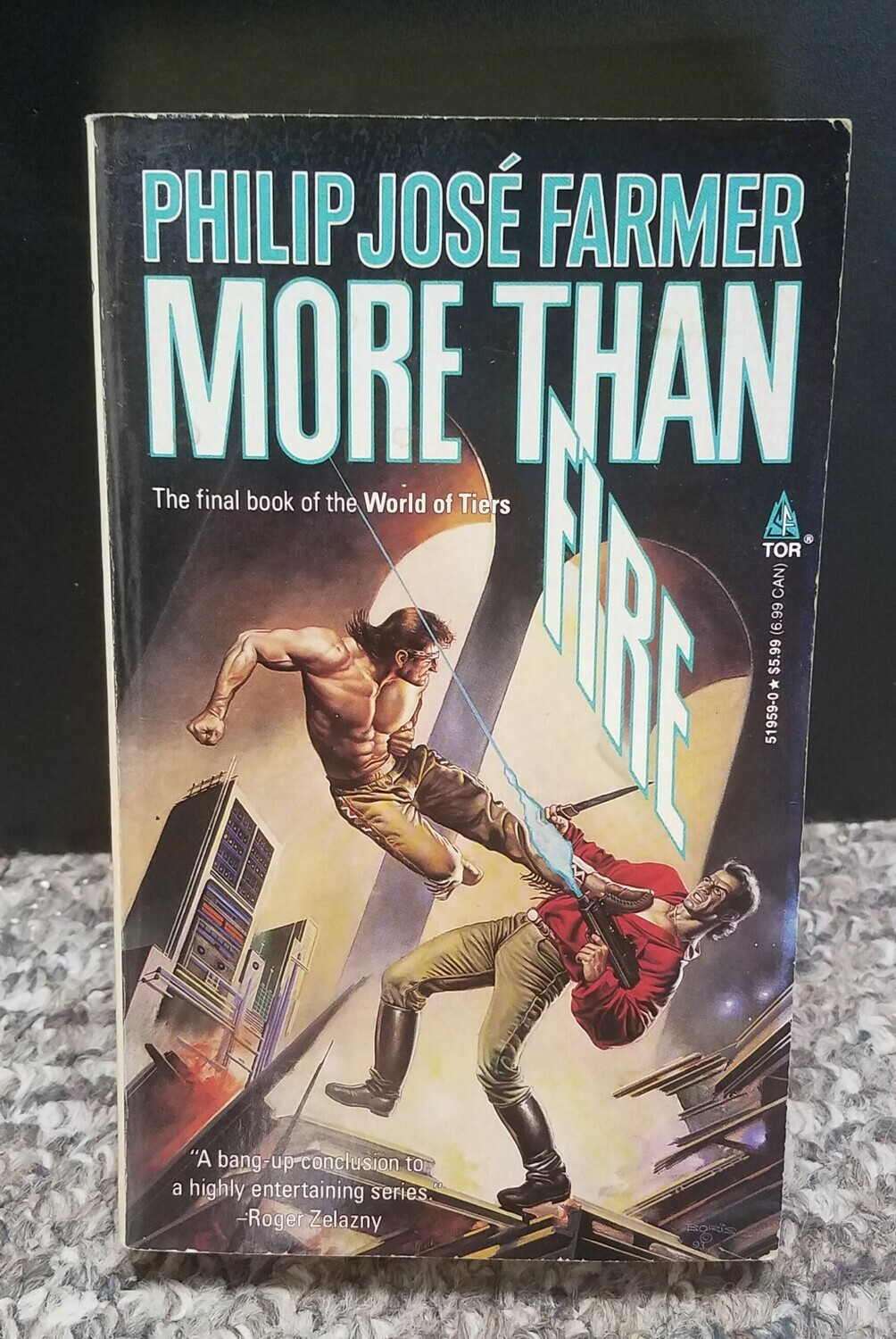 More Than Fire by Philip Jose Farmer