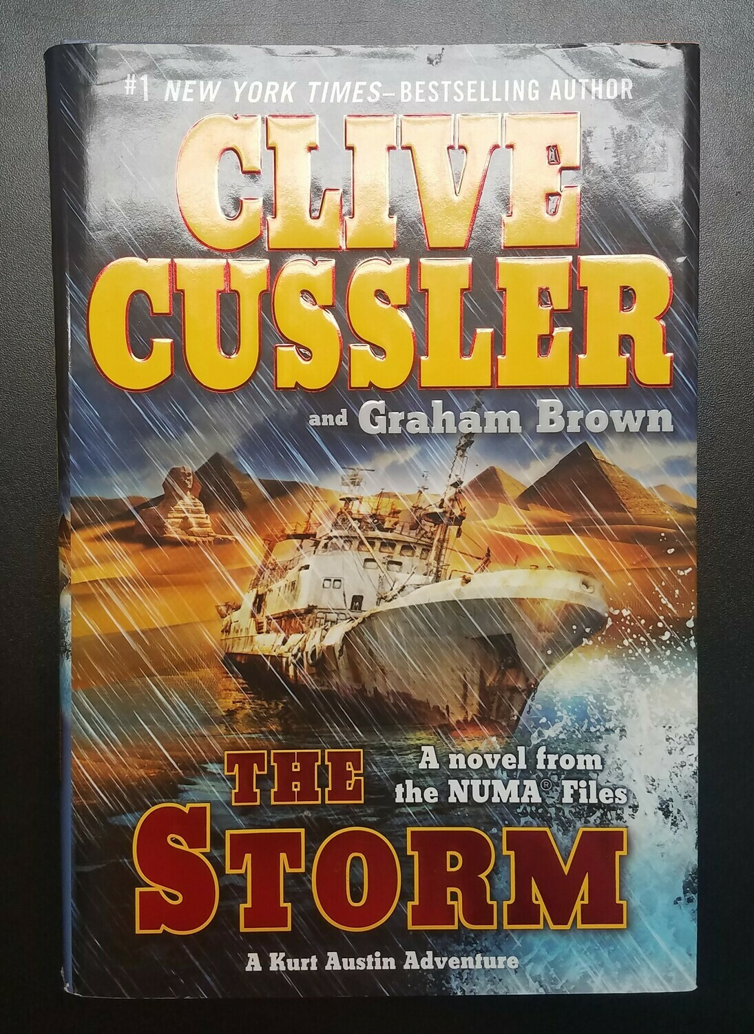 The Storm by Clive Cussler and Graham Brown