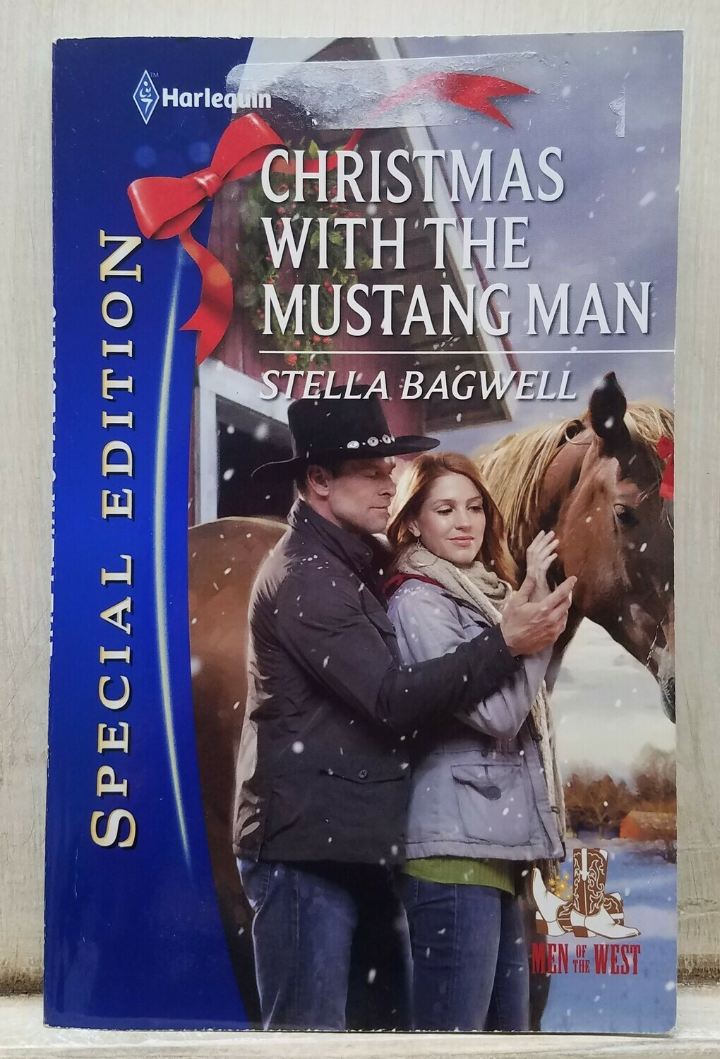 Christmas with the Mustang Man by Stella Bagwell