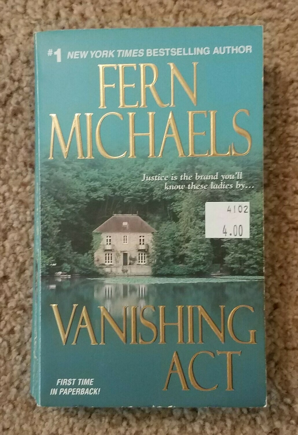Vanishing Act by Fern Michaels