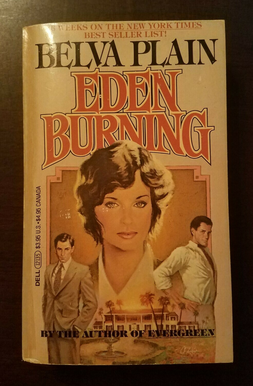 Eden Burning by Belva Plain