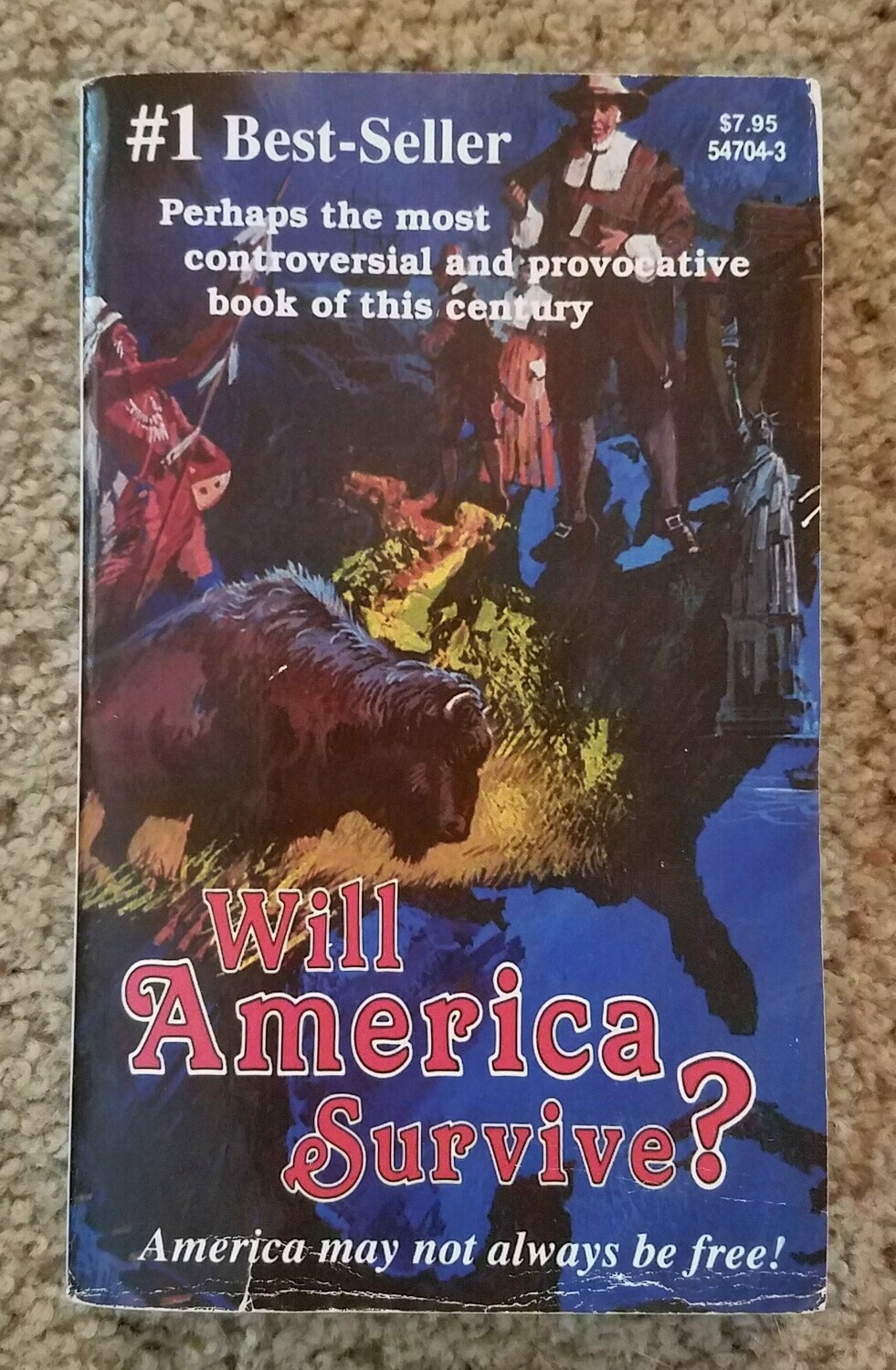 Will America Survive? (The Great Controversy) by E.G. White