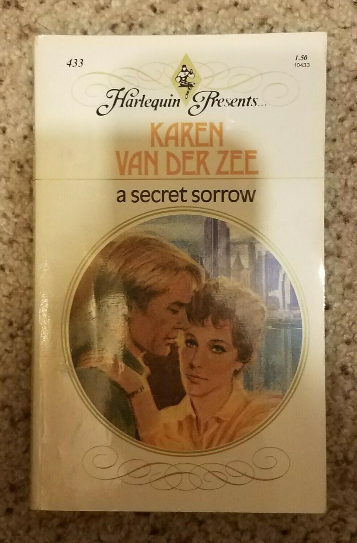 A Secret Sorrow by Karen Van Der Zee