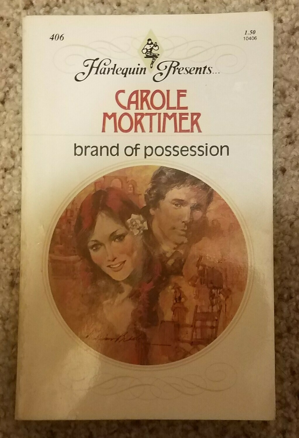 Brand of Possession by Carole Mortimer