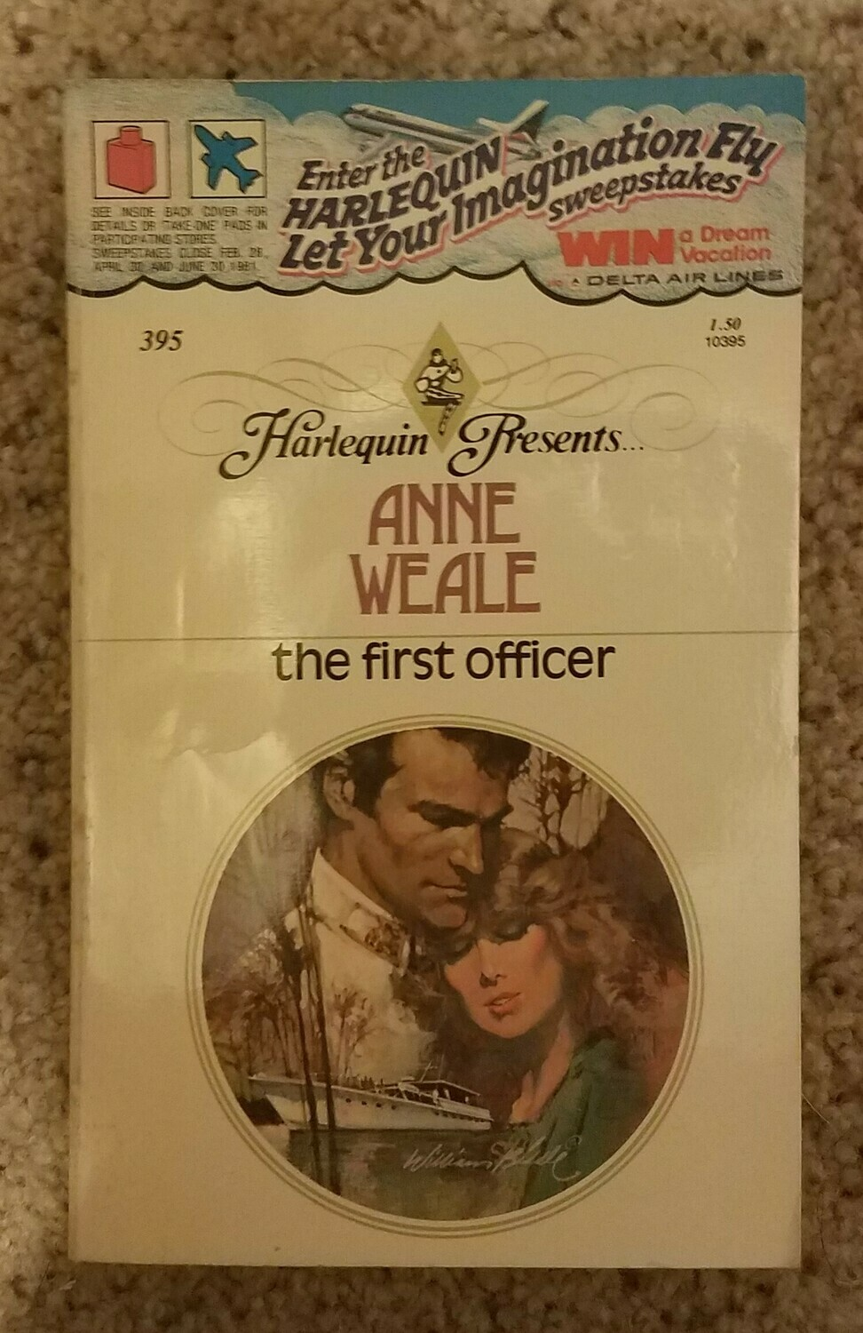 The First Officer by Anne Weale
