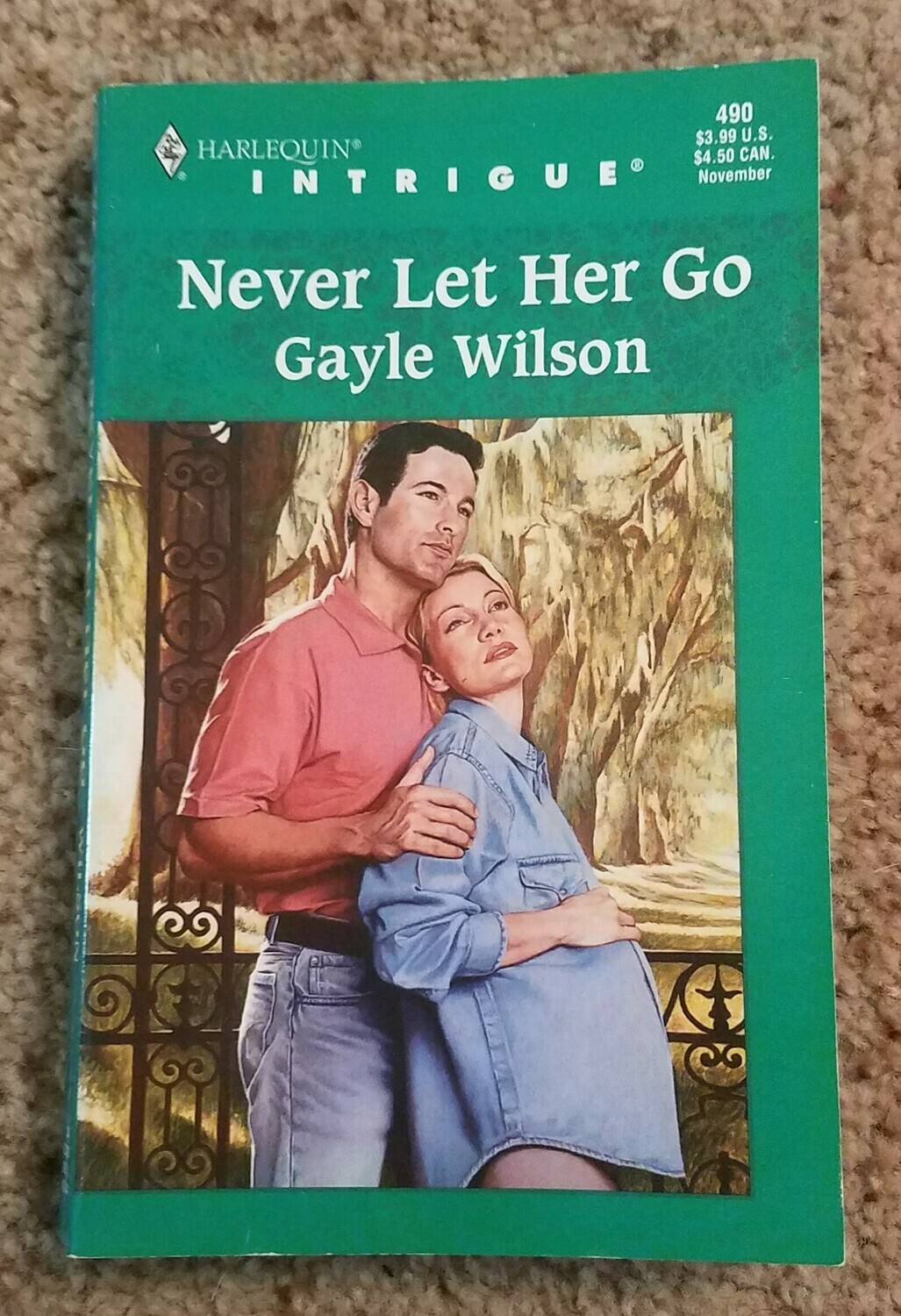 Never Let Her Go by Gayle Wilson