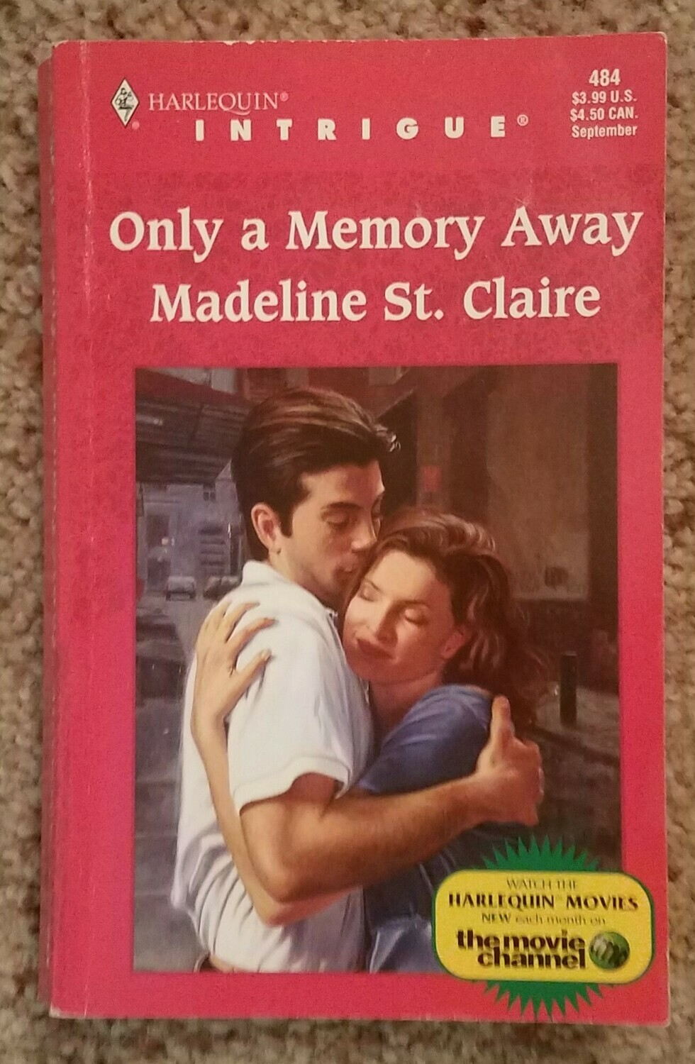Only a Memory Away by Madeline St. Claire