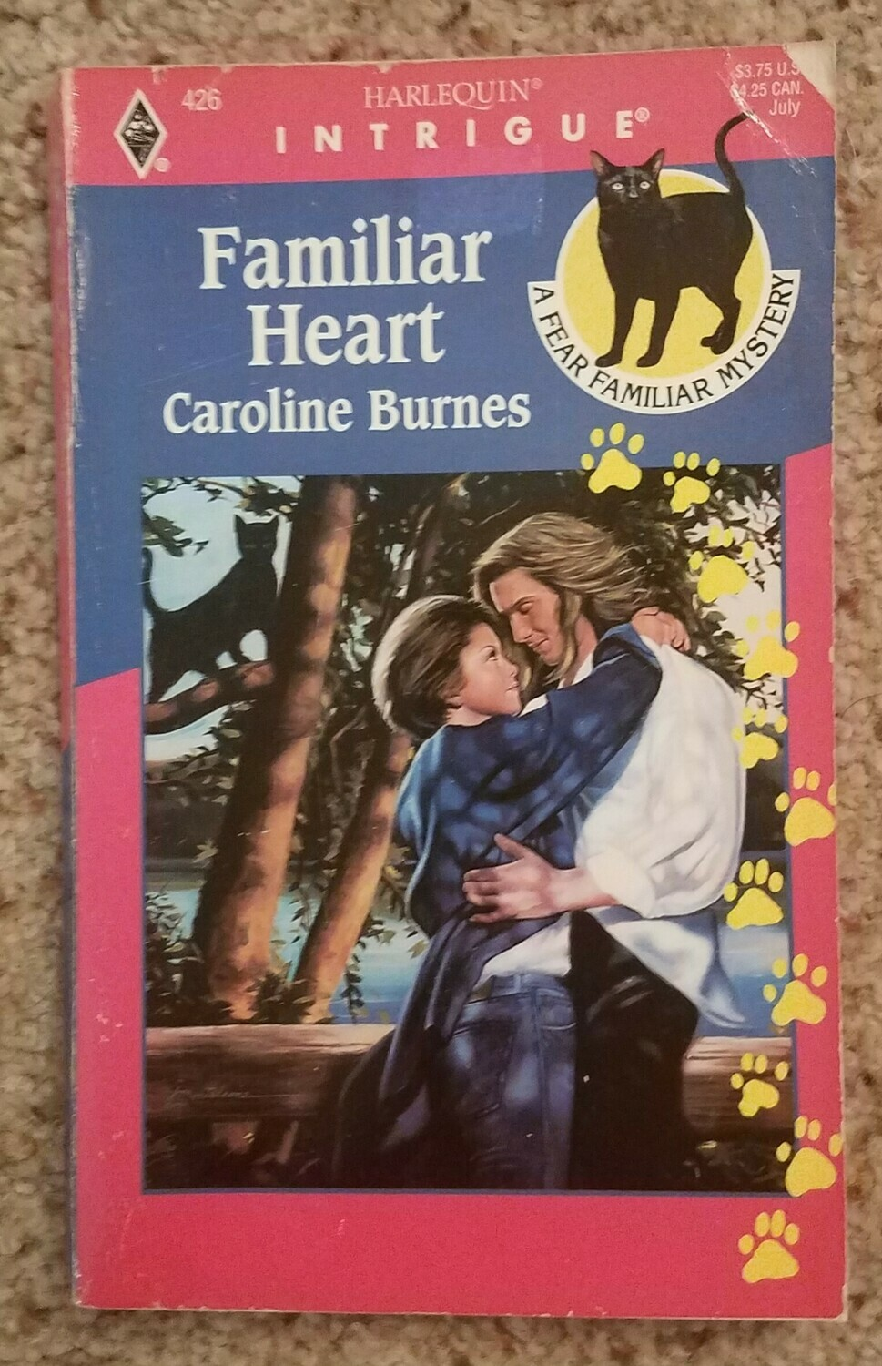 Familiar Heart by Caroline Burnes