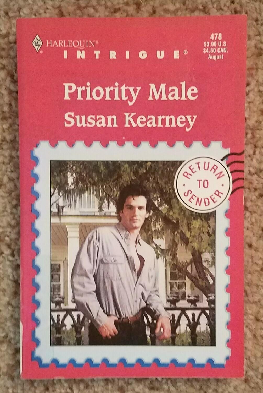 Priority Male by Susan Kearney