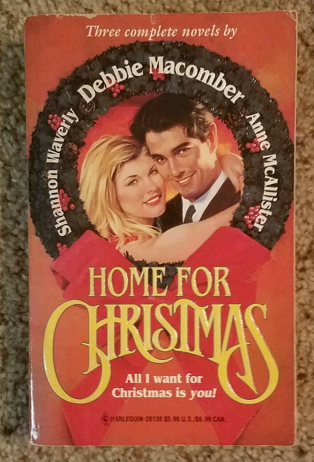 Home for Christmas by Debbie Macomber, Shannon Waverly, and Anne McAllister