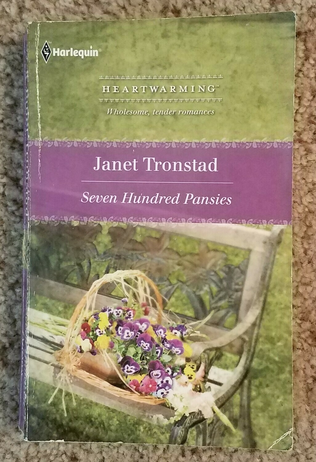 Seven Hundred Pansies by Janet Tronstad